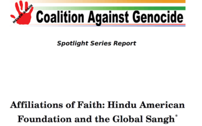 Coalition against genocide